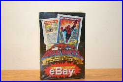 Marvel Universe Series 1 Super Heroes Trading Cards Factory Sealed Box 1990