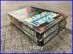 Marvel Universe Series 3 Trading Cards SEALED BOX 36 packs Impel 1992 SkyBox
