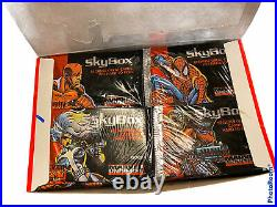 Marvel Universe Series 4 IV Sealed Trading Cards Box 36 Packs Fast Shipping