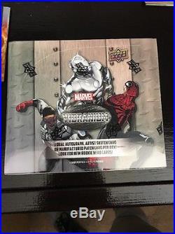 Marvel Vibranium Factory Sealed Trading Card Case