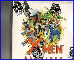 Marvel X-Men Archives sealed 12 Box case SKETCH IN EVERY BOX
