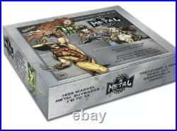 Marvel X-Men Metal Universe Trading Cards Box Upper Deck 2021 IN HAND SHIPS
