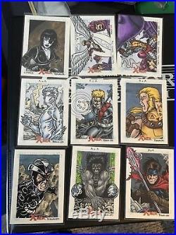 Marvel X-men Archives sketch card by Tony Perna. Pick one