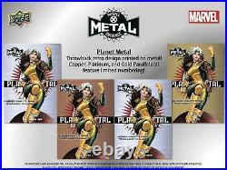 Marvel X-men Metal Universe Trading Cards Box (upper Deck 2021)