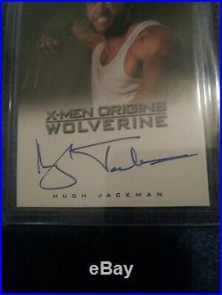 Marvel X-men Origins Wolverine Movie 2009 Auto/autograph Card Hugh Jackman
