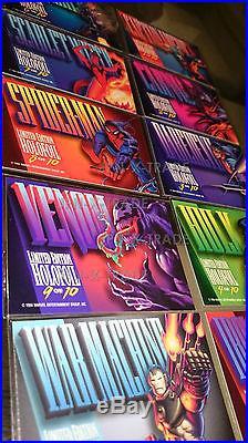 Marvel masterpieces 1994 bronze holofoil set complete GEM MINT card promo rare