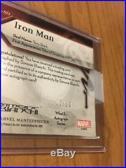 Marvel masterpieces 2018 Iron Man what if auto 5/10