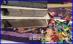 Massive 1400+ Comic Book Card & Memorabilia Lot Marvel & DC Card Collection