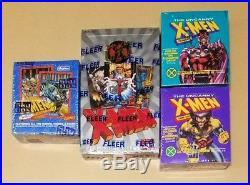 Mega Set MARVEL X-MEN TRADING CARDS HOBBY BOX SEALED 1994 Fleet Ultra xmen 92 93