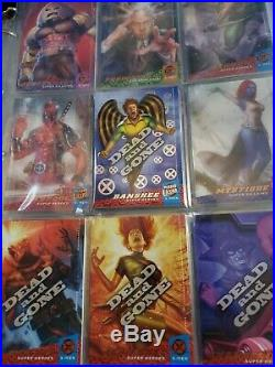 Mega lot of Misc 1996-2018 Marvel Trading cards serial subsets inserts base