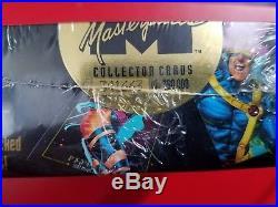 Mega set MARVEL MASTERPIECES BOXES FACTORY SEALED Marvel Trading Cards Tin
