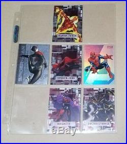 Mega set Marvel Beginnings Trading Cards Series 1, 2, and 3. Diecut inserts sub