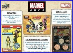 NEW! 2020 Marvel Ages Upper Deck Trading Cards (1 SEALED BOX)