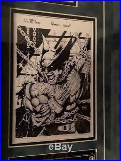 Nar Nar! Original Layout Sketch for Emotion Marvel Premier 2012 Subset Rare 1of1
