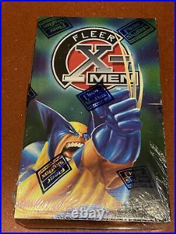 New Sealed! 1997 Fleer X-Men Box Trading Cards Marvel SkyBox Wolverine Box