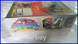 New Sealed Marvel Universe Box Series 2 Trading Cards 1991