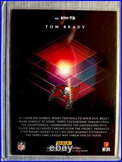 RARE! 2020 Panini Donruss Tom Brady NIGHT MOVES Case Hit! NM-TB Marvels