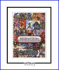 REDEMPTION CARD UNCUT SHEET ARTIST'S PROOF, 2016 Marvel Masterpieces LEVEL 4
