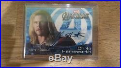 RELISTED 2012 Upper Deck Marvel Avengers Chris Hemsworth Thor Autograph