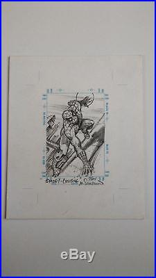Rare 1998 Marvel The Silver Age Spiderman Sketchagraph Sketch By Marie Severin
