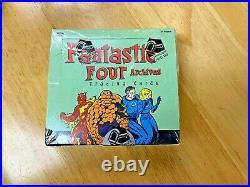 Rare Brand New Sealed 2008 Marvel Fantastic Four Archives Trading Card Hobby Box