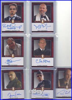 Rare Jeff Bridges. 2008 Marvel Iron Man Movie Autograph / Auto Card