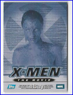 Rebecca Romijn-Stamos as Mystique 2000 Topps Marvel X-Men Movie Autograph Card