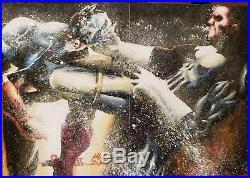 Rittenhouse Marvel Sketch Cards Captain America v Punisher by Mick + Matt Glebe
