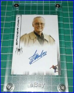 STAN LEE Autograph Card Original & Certified Marvel Spider-Man Hulk Thor