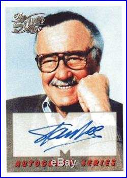 STAN LEE Marvel The Silver Age A1 autograph card 1998 Skybox auto NM FREE SHIP