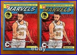 STEPHEN CURRY 2020-21 Donruss NET MARVELS Silver and Gold Press Proof SSP