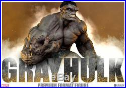 Sideshow Marvel Collectibles Gray Hulk Premium Format Statue (In Stock)