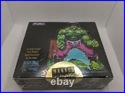 Skybox MARVEL MASTERPIECES by JOE JUSKO 1992 Trading Cards Factory Sealed Box