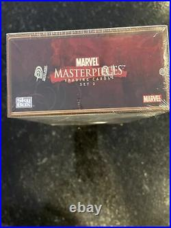 Skybox Marvel Masterpieces Series 2 Trading Card Box 36 Packs 7 card packs 2008