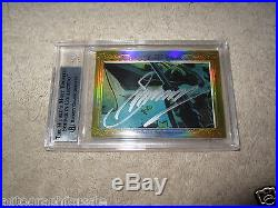 Stan Lee Gerry Conway 2014 Leaf Masterpiece Cut Signature signed auto 1/1 Marvel