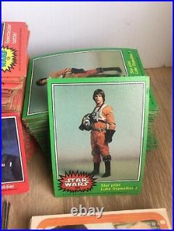 Star Wars 1977 1980 (778 Trading Card Lot) Series 1-5, Sticker, Wonder Bread, BK