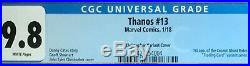 Thanos #13 CGC 9.8 Christopher Trading Card Variant Cover 1st Cosmic Ghost Rider