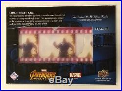 Thanos Josh Brolin 2019 Upper Deck Marvel Avengers Infinity Wars Auto 032/100