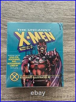 UNCANNY X-MEN Trading Cards Box 1992 MARVEL IMPEL Jim Lee Factory Sealed NEW