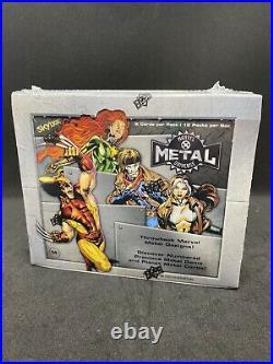 Upper Deck 2021 MARVEL X-Men Metal Universe Trading Cards (Box) Factory Sealed