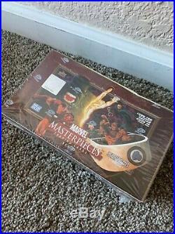 Upper Deck Marvel Masterpieces Set 2 Factory Sealed Box