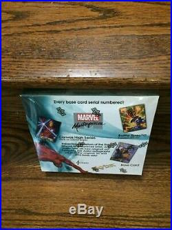 Upper Deck Skybox 2016 Marvel Masterpieces Joe Jusko Trading Card HOBBY Box