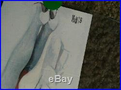 Upper deck marvel premier emma frost by Charles Hall sketch card
