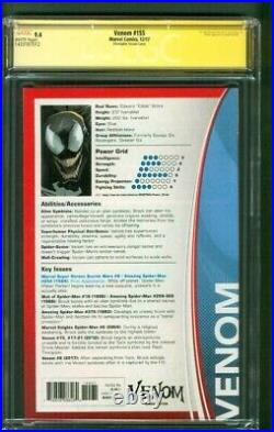 Venom 155 CGC 3XSS 9.4 McFarlane Bagley +1 Sign Trading Card Variant Spider Man