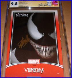 Venom #155 JTC Variant CGC SS 9.8 SIGNED Stan Lee Marvel Trading Card Spider-Man