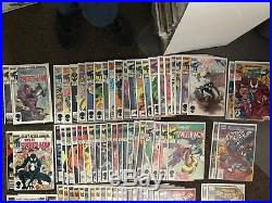 Web of Spider-Man #1-106, Annuals 1-9, and 9 with Trading Card, NM Run