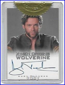 X-Men Origins Wolverine Very Limited Autograph Card Hugh Jackman Marvel 2009