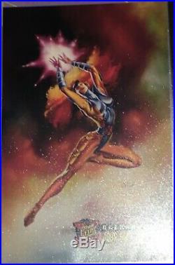 X-men 1995 Fleer Ultra Master Card Set Specialised Binder, Mint Condition