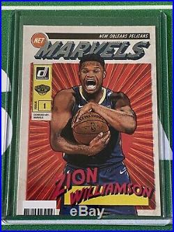 Zion Williamson 2019-20 Panini Donruss Marvels Insert